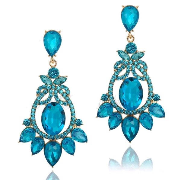 Turquoise 2.75 inch Earrings